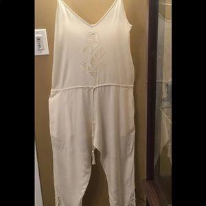 Cleobella Cream Jumpsuit size8-10